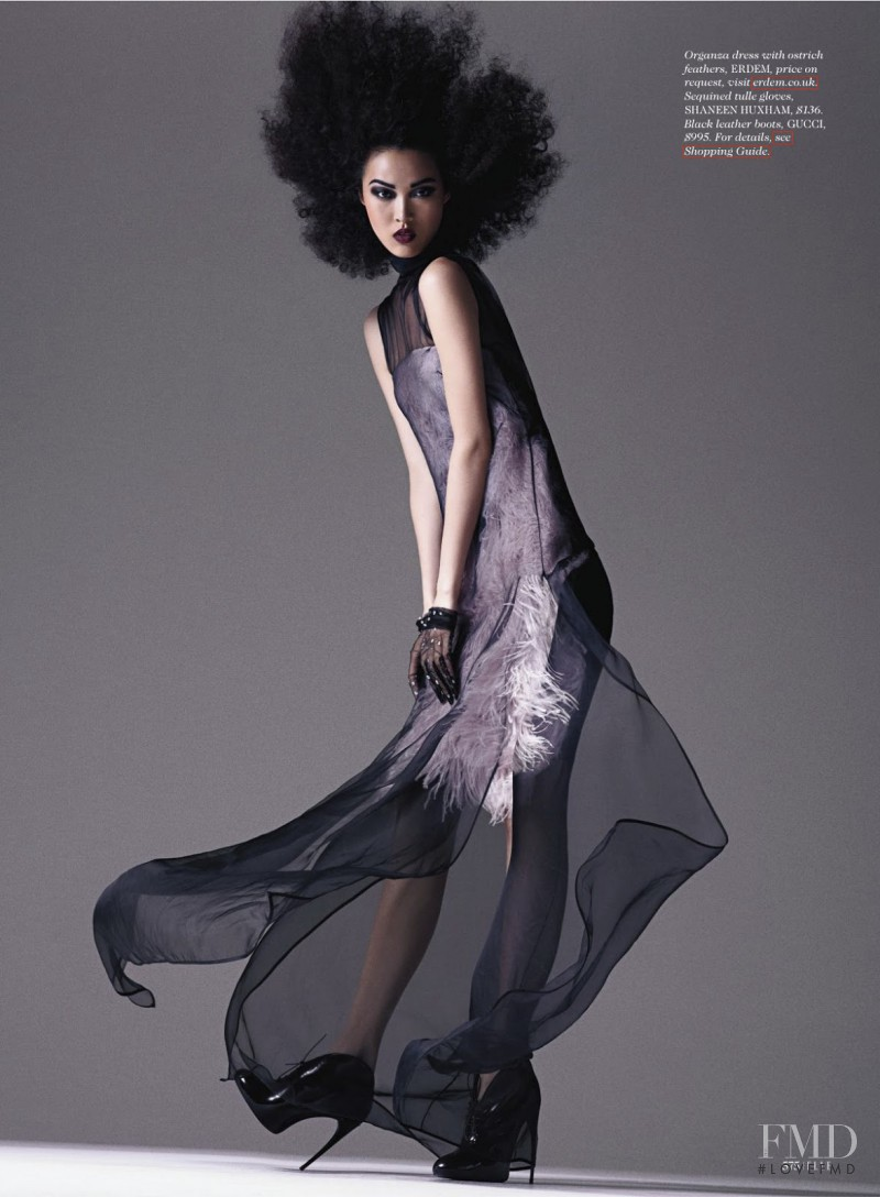 Tian Yi featured in Wild Thing, September 2013