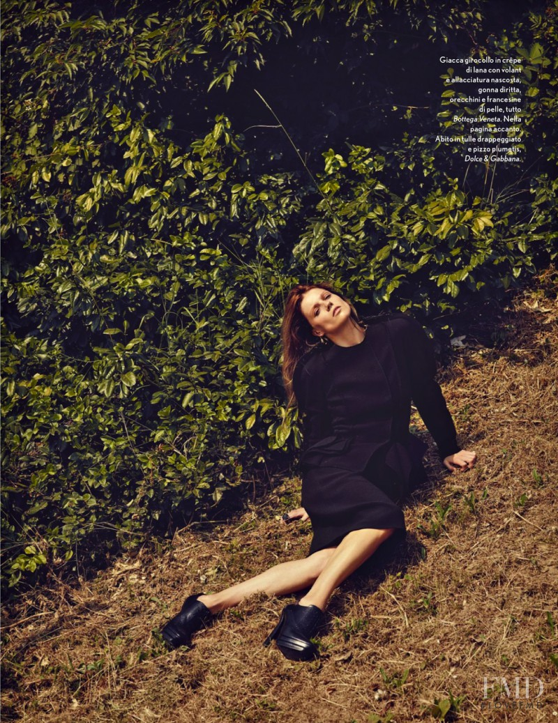 Masha Novoselova featured in Natural Woman, October 2013