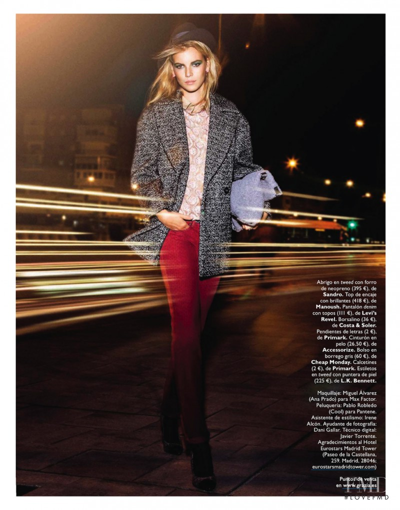 Victoria Tuaz featured in After Working Girl, October 2013