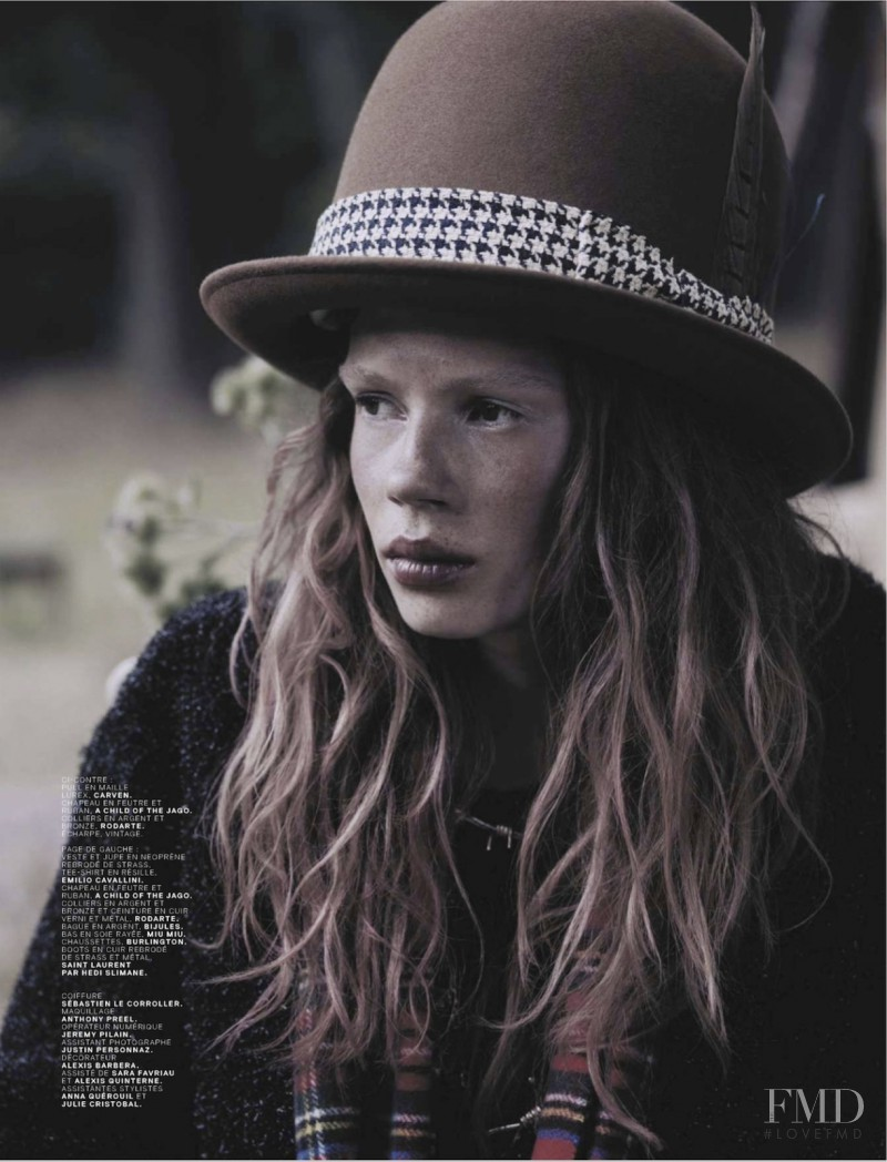Julia Zimmer featured in Billy The Kid, October 2013
