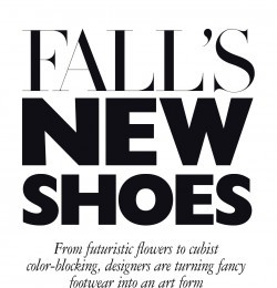 Fall\'s New Shoes
