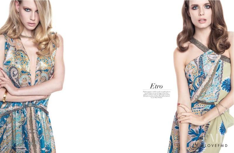 Lisette van den Brand featured in Total Looks, March 2014