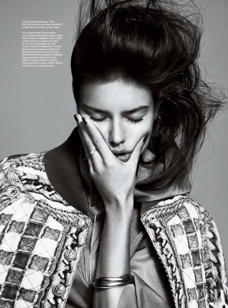 Adriana Lima featured in Body Of An Angel, March 2014