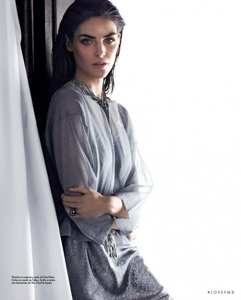 Hilary Rhoda featured in American Beauty, April 2014