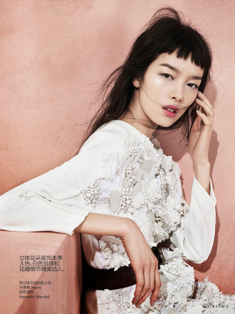 Fei Fei Sun featured in Modern Romance, May 2014