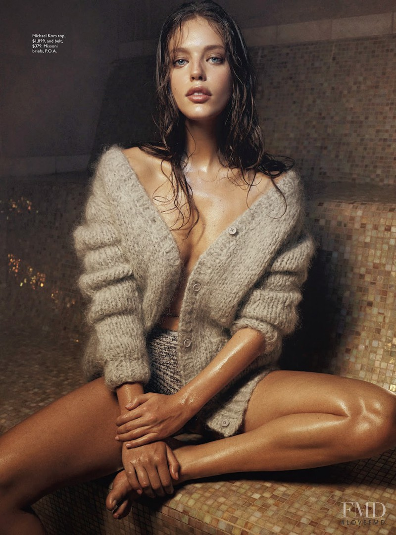 Emily DiDonato featured in Let It Snow, June 2014