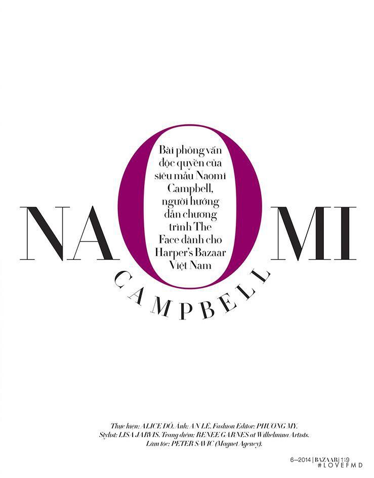 Naomi Campbell, June 2014