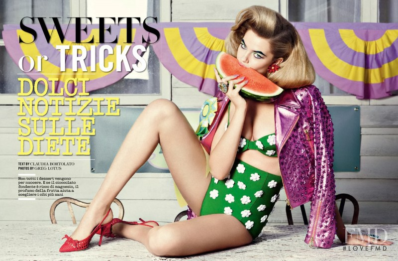 Hailey Clauson featured in Sweets Or Tricks, May 2014