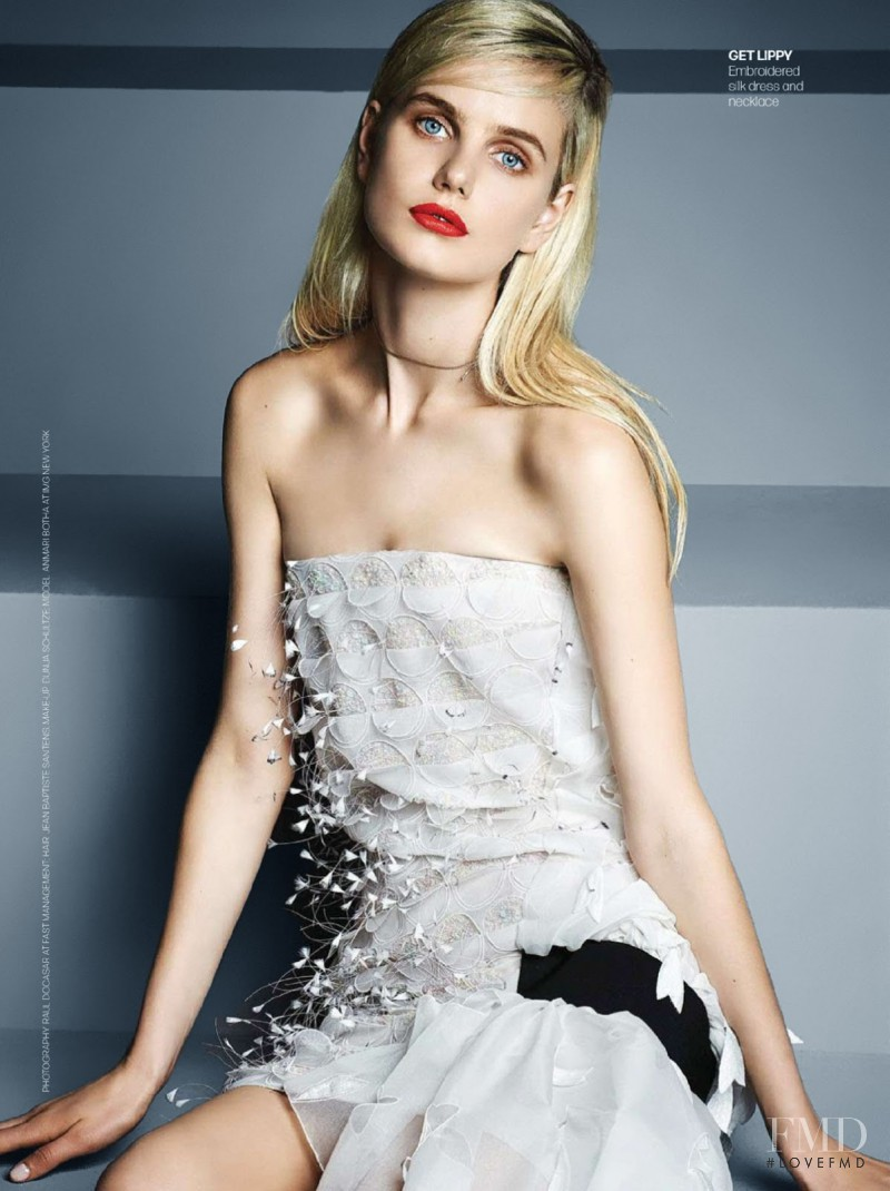 Anmari Botha featured in It\'s Dior, Darling, June 2014