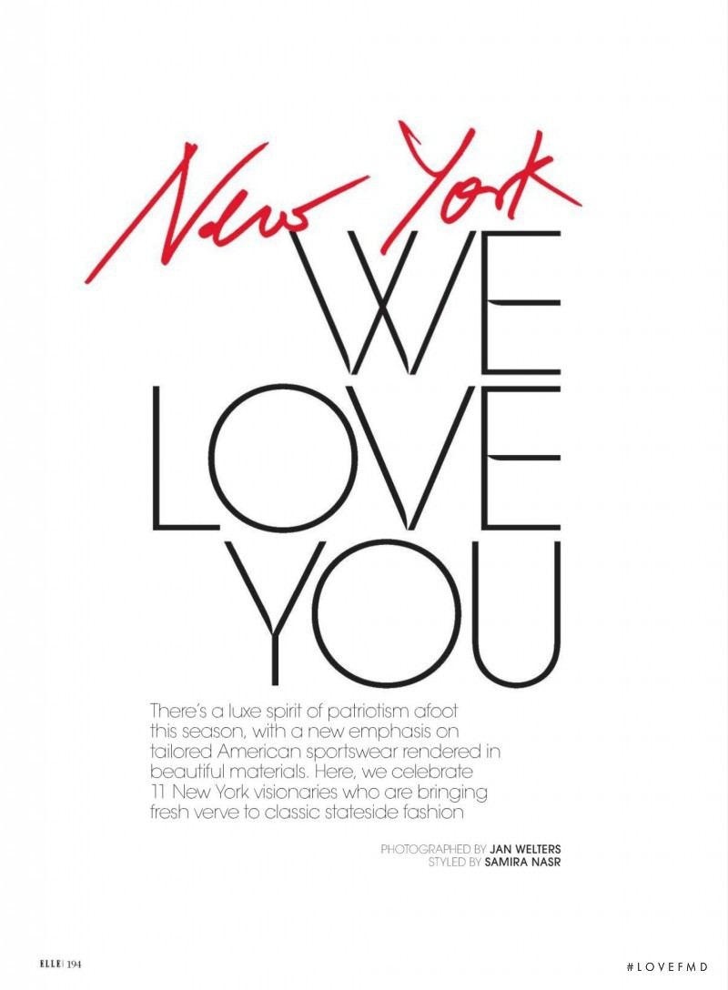 New York We Love You, August 2014