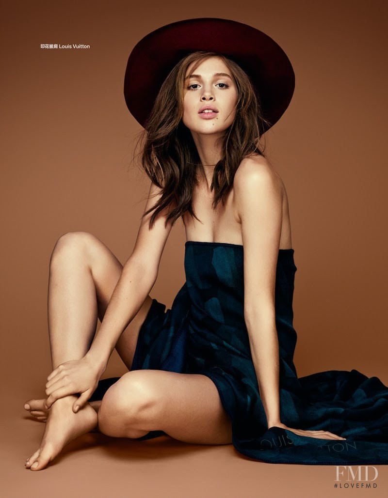 Anais Pouliot featured in Sonata, August 2014