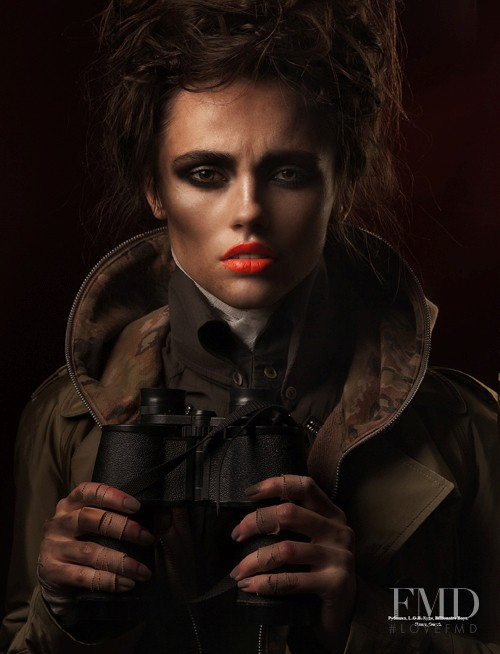 Anastasia Zaika featured in Beauty Revolt, June 2011