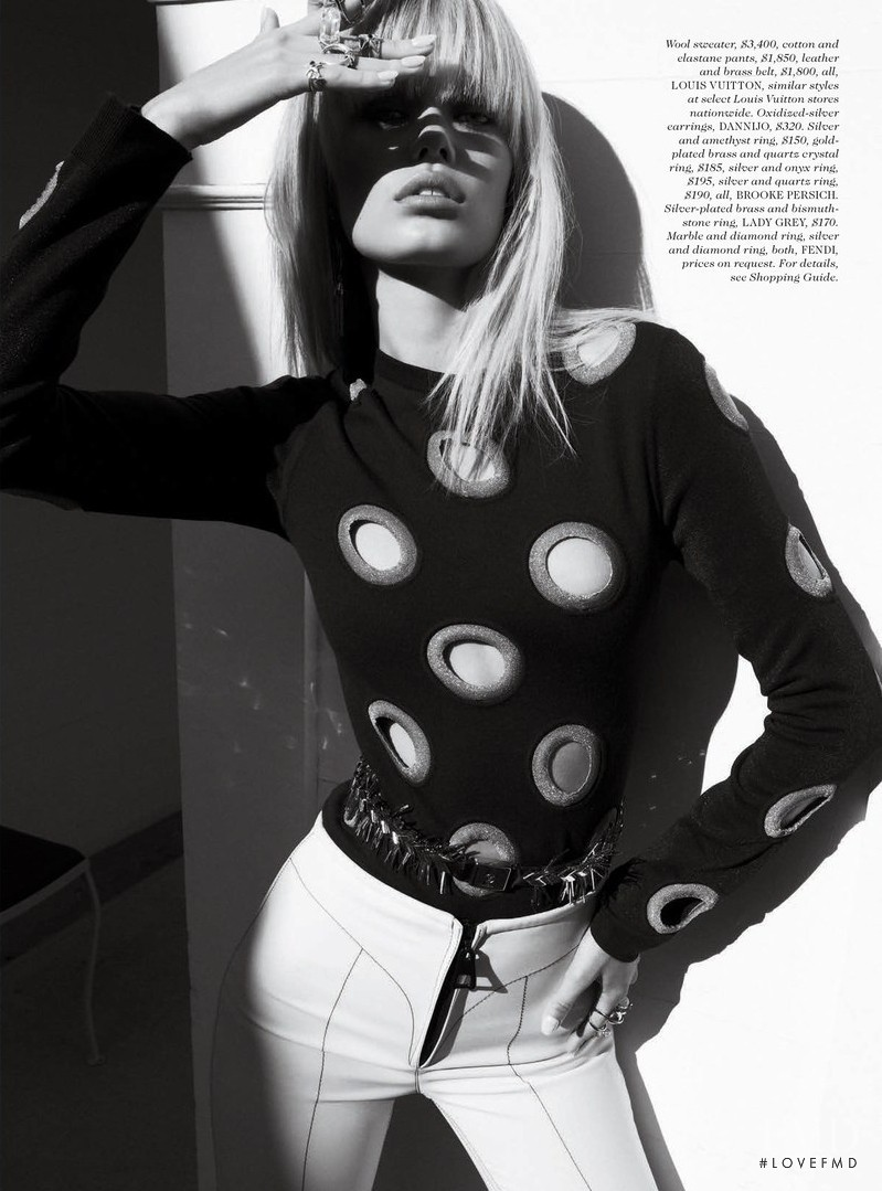 Frida Aasen featured in Love Her Madly, December 2014