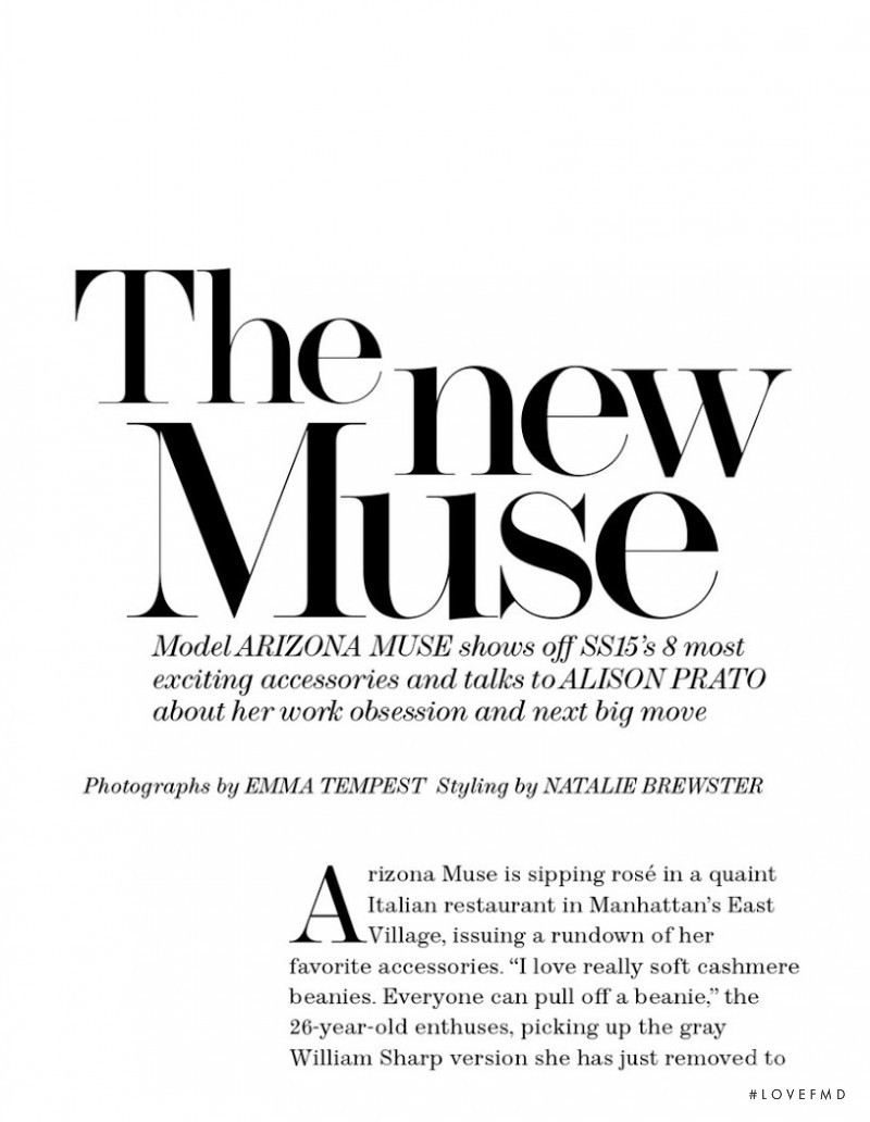 The New Muse, March 2015