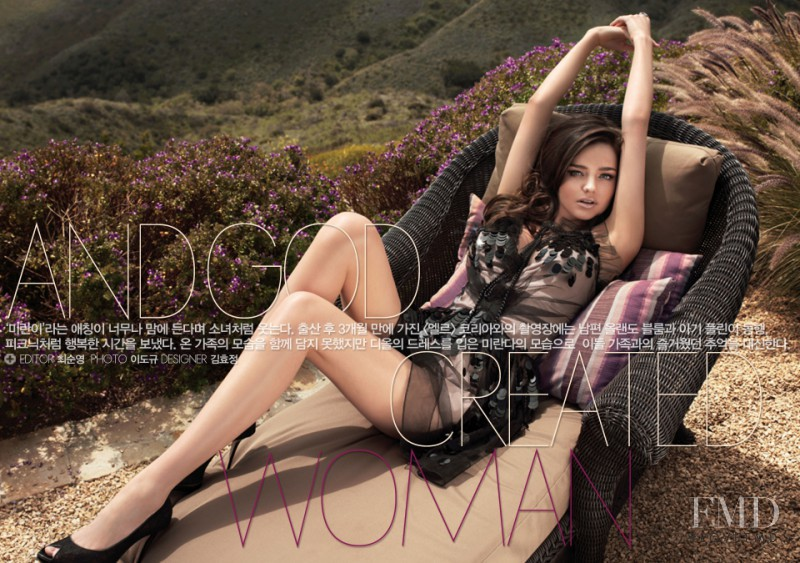 Miranda Kerr featured in  And God Created Woman, August 2011