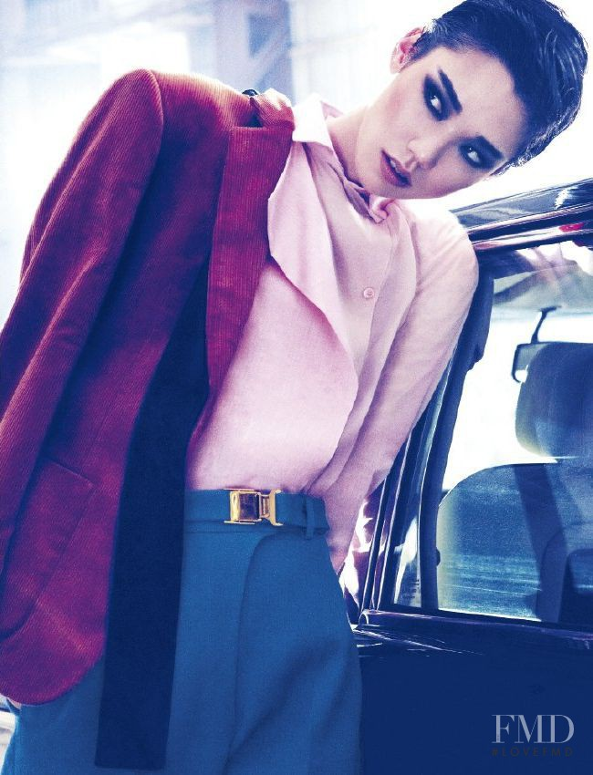 Tao Okamoto featured in Boy Meets Girl, July 2011