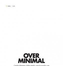 Over Minimal