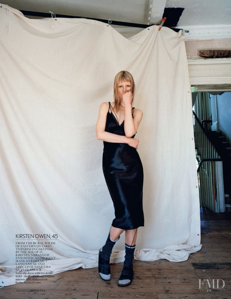 Kirsten Owen featured in From Waifs to Women, July 2015
