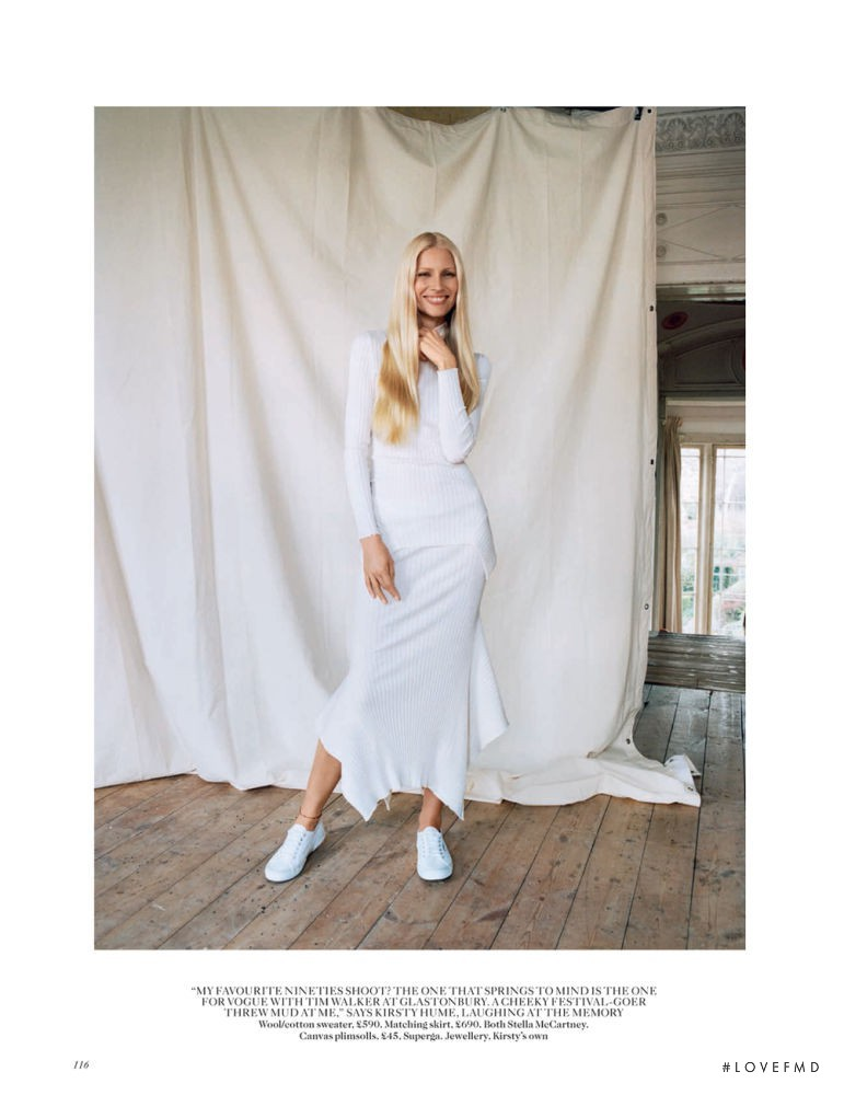 Kirsty Hume featured in From Waifs to Women, July 2015