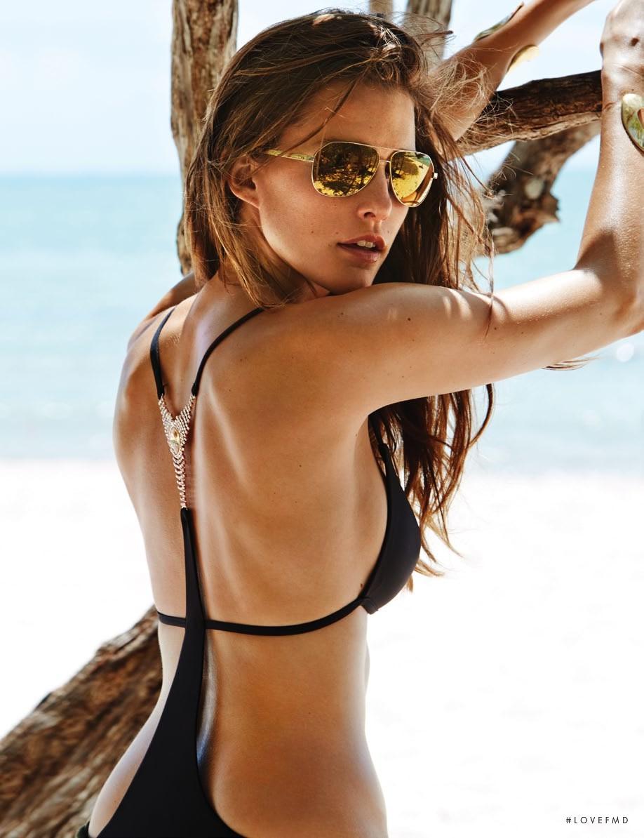 Operation Bikini in Elle Spain with Kim Cloutier