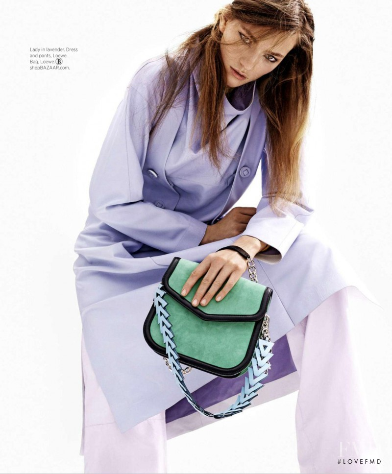 Sophia Ahrens featured in Color Code, July 2015