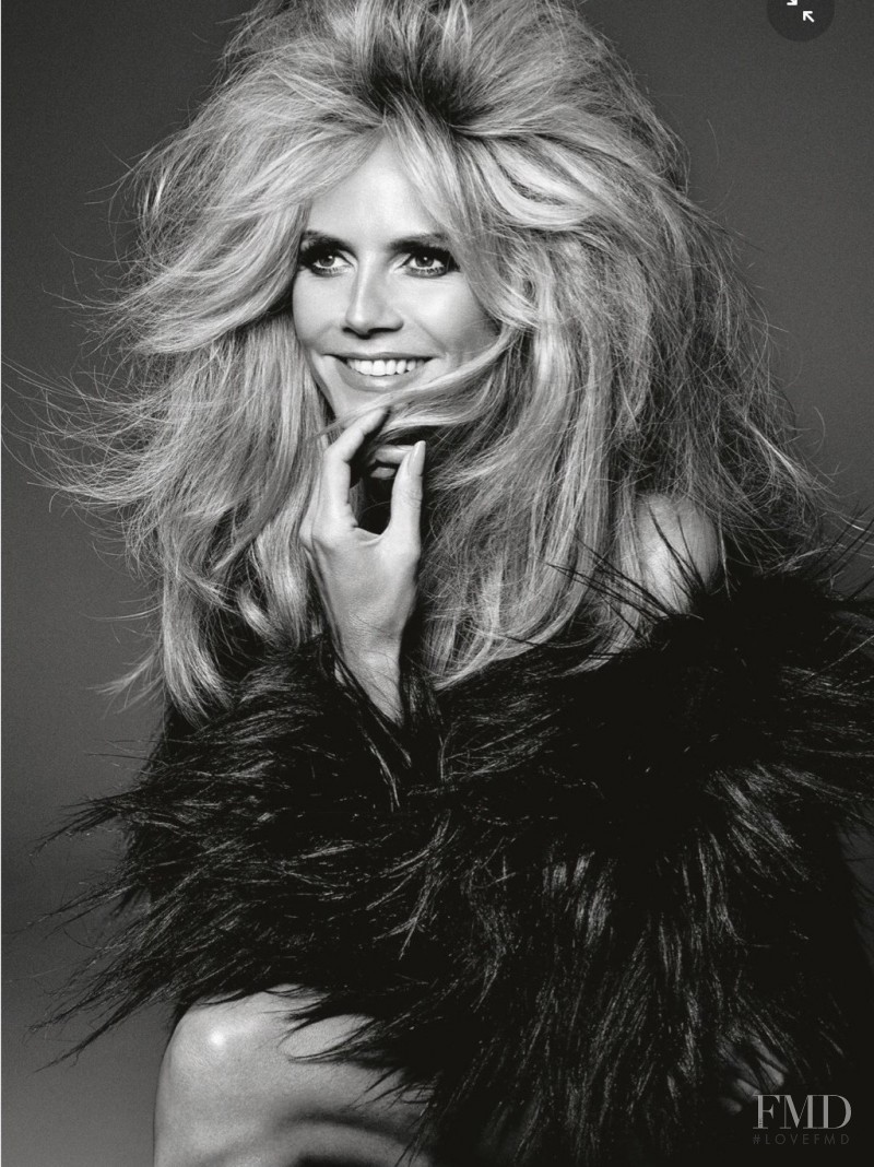 Heidi Klum featured in Beauty, July 2015