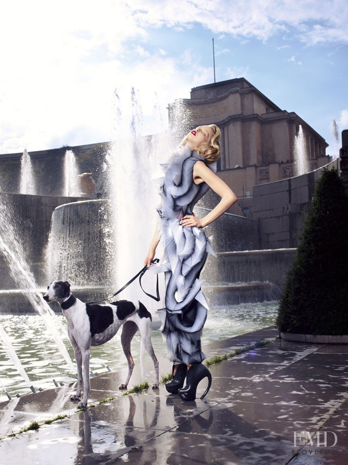 Tanya Dyagileva featured in Remake Couture, October 2011