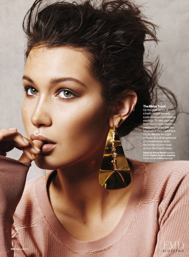 Bella Hadid featured in She\'s Golden, July 2015