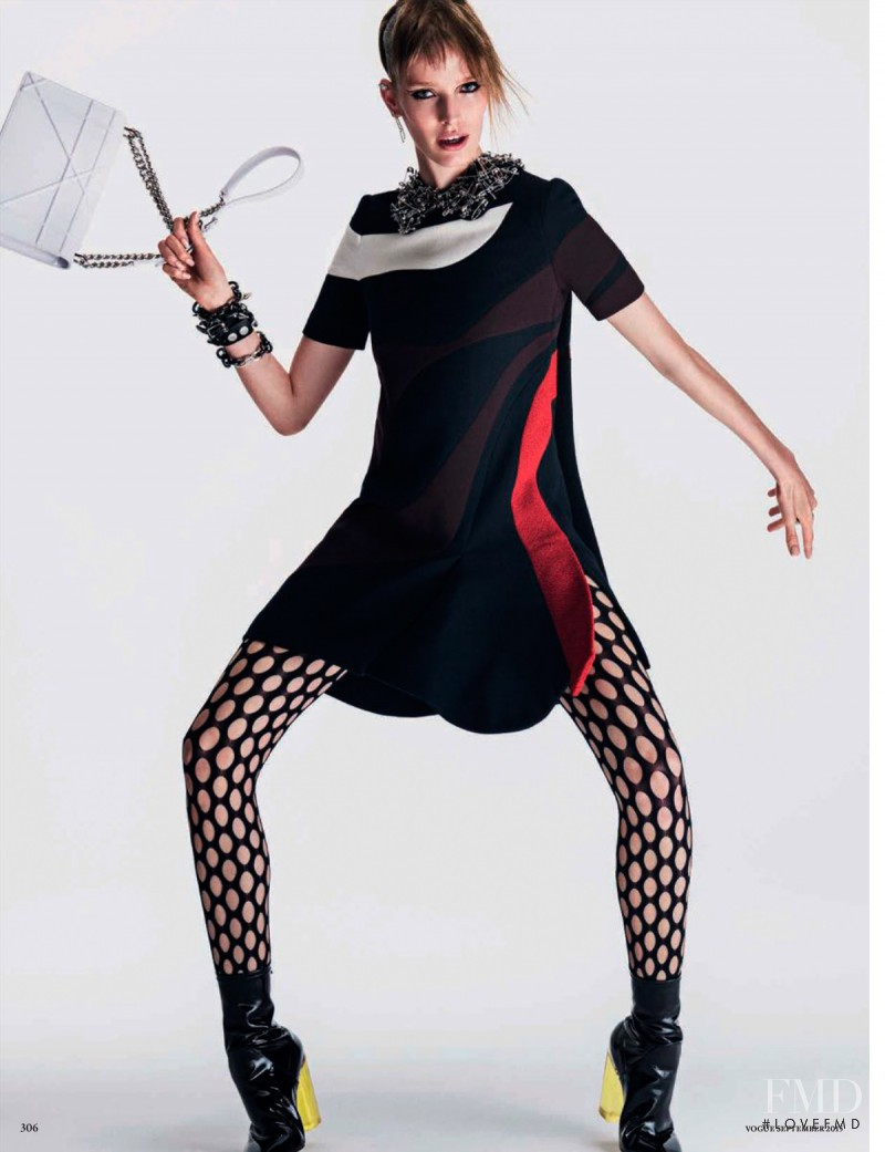 Alisa Ahmann featured in Up Town Punk, September 2015