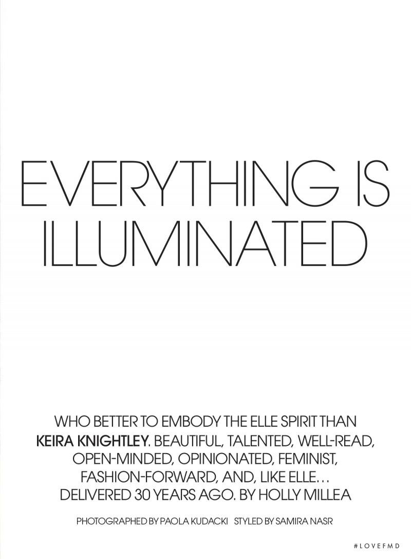 Everythings Is Illuminated, September 2015