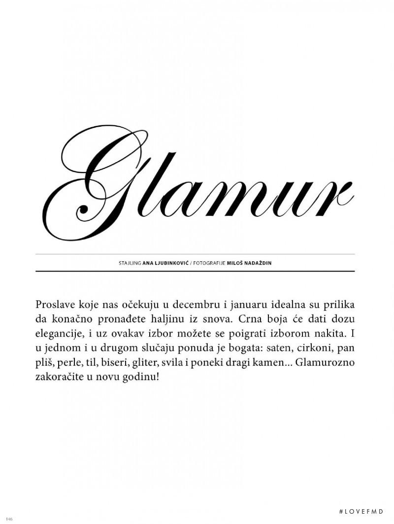 Glamour, December 2008
