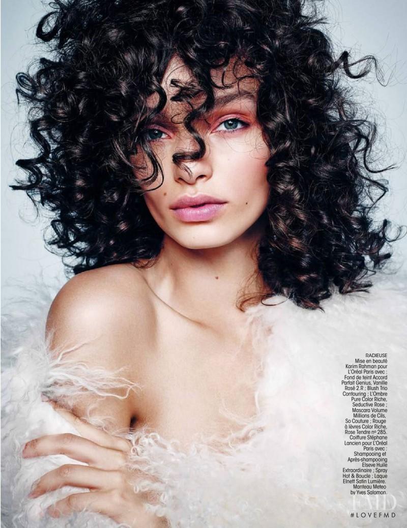Luma Grothe featured in Glam Béatitude, November 2015