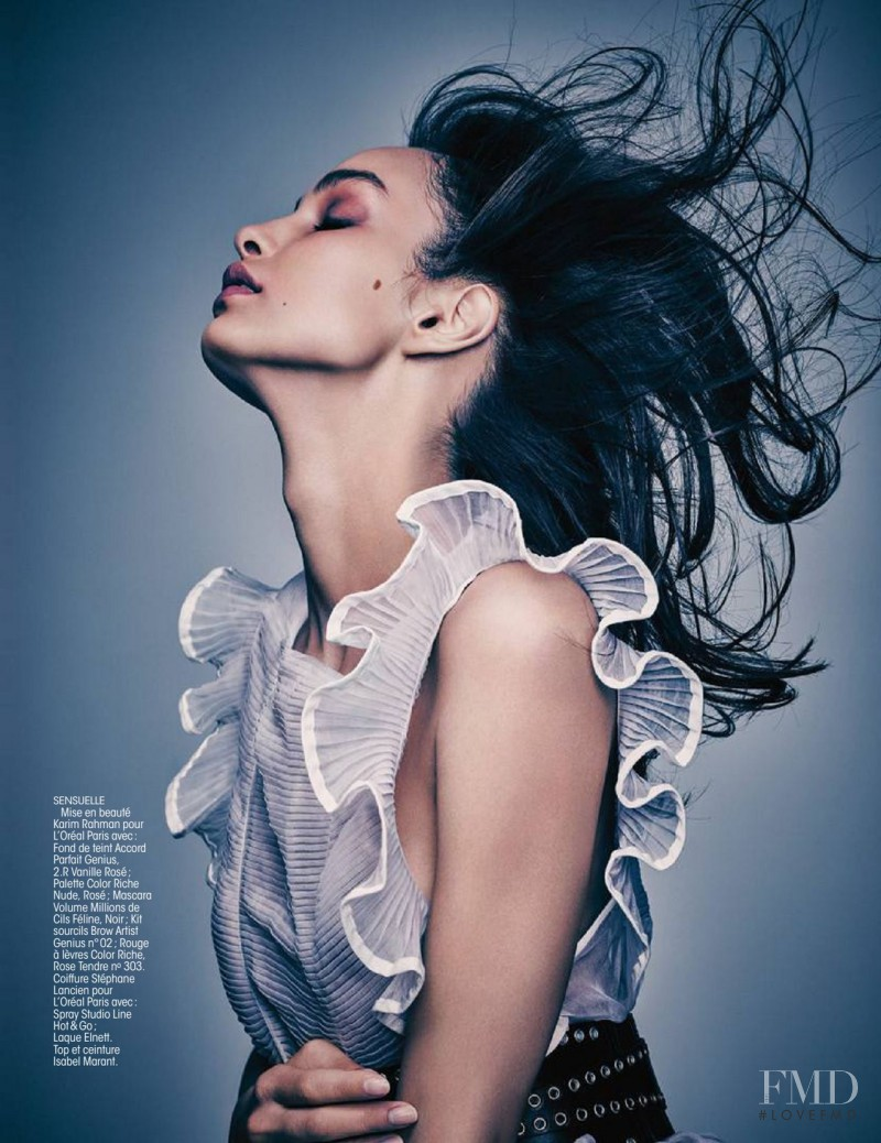 Luma Grothe featured in Glam B�atitude, November 2015