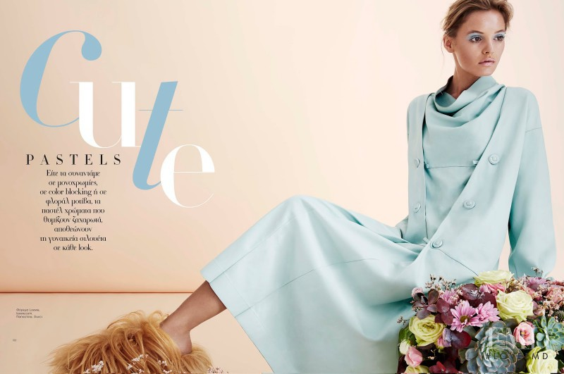 Paige Reifler featured in Cute Pastels, January 2016