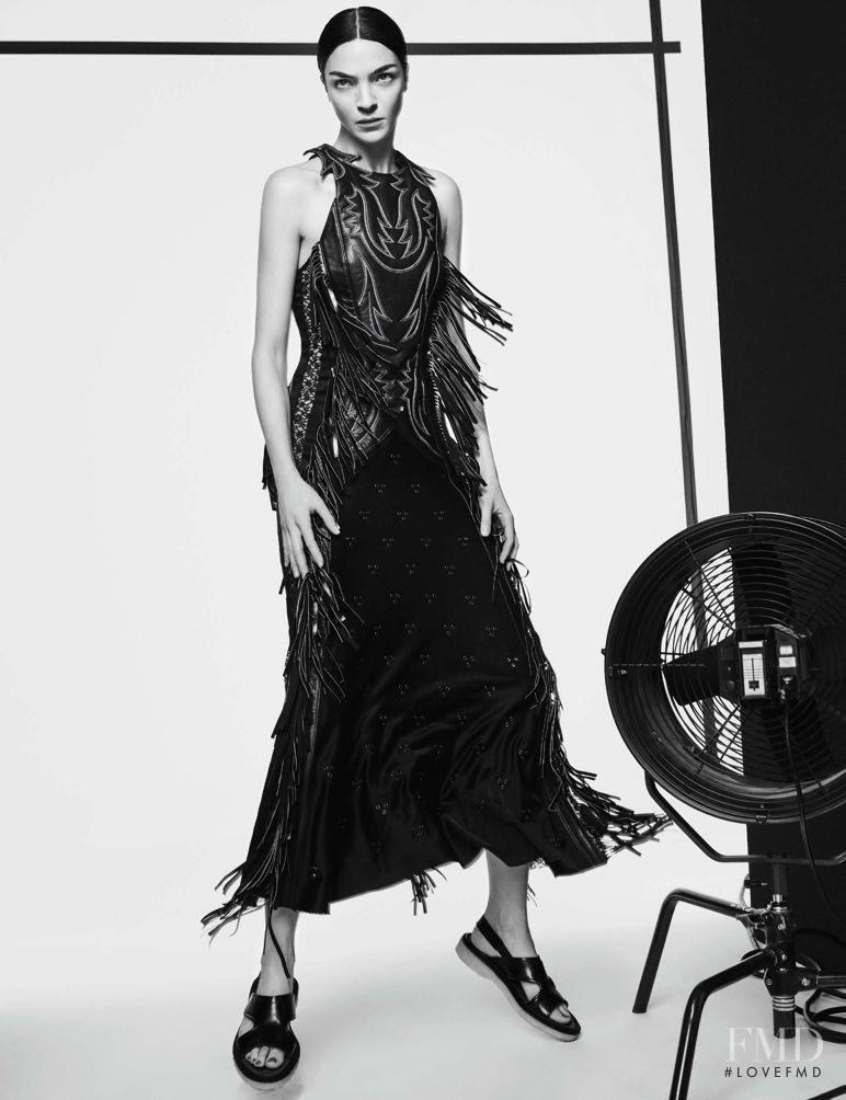 Mariacarla Boscono featured in Fashion Show, February 2016