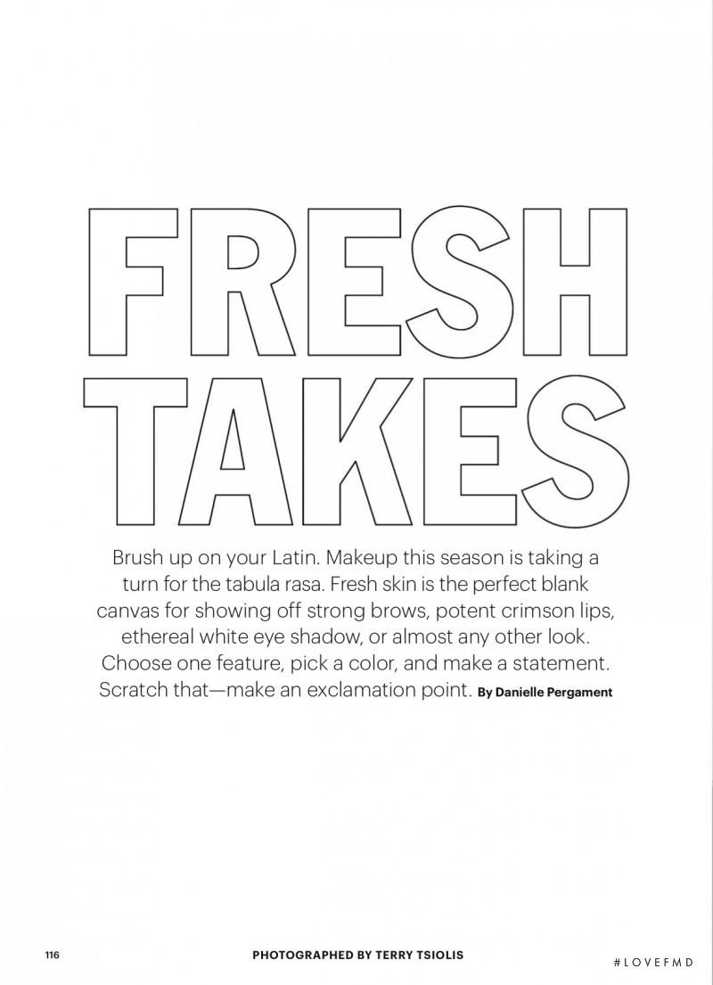 Fresh Takes, February 2016