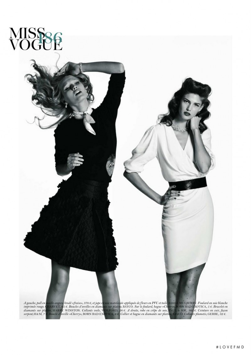 Toni Garrn featured in Made in USA, December 2011