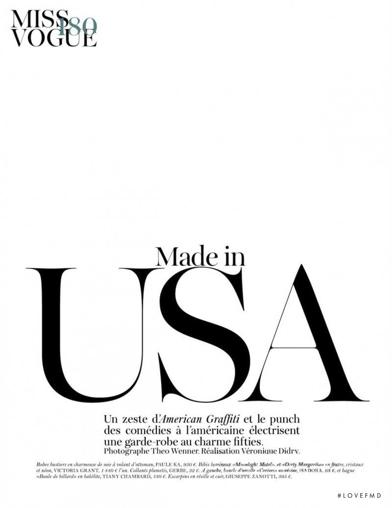 Made in USA, December 2011
