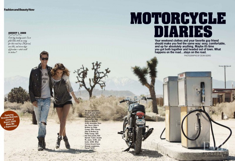 Motorcycle Diaries, August 2009