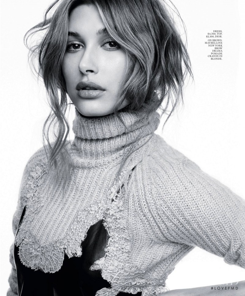 Hailey Baldwin featured in Wonder Women, May 2016