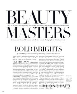 Beauty Masters, May 2016