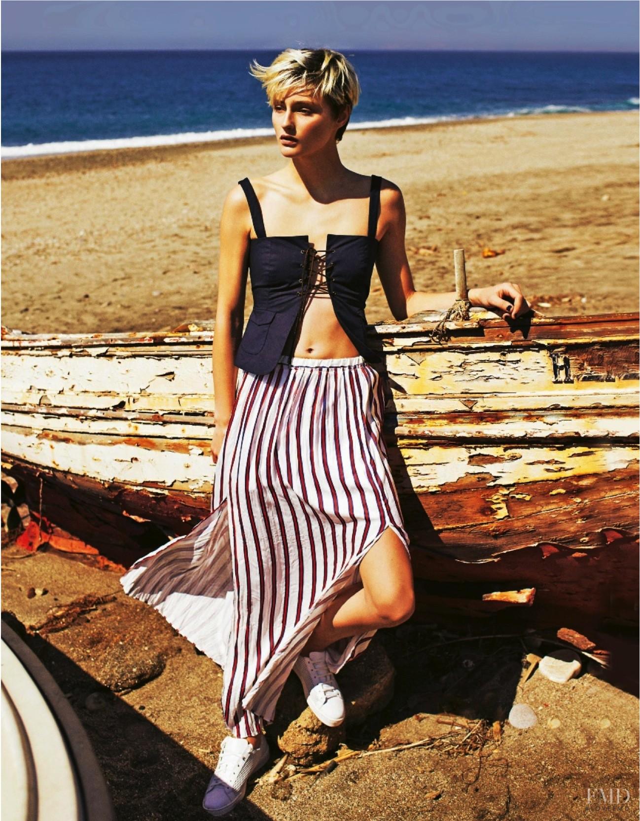 Grazia italy the fashion spot Brigitte Macron at Dior Haute Couture Fashion Week