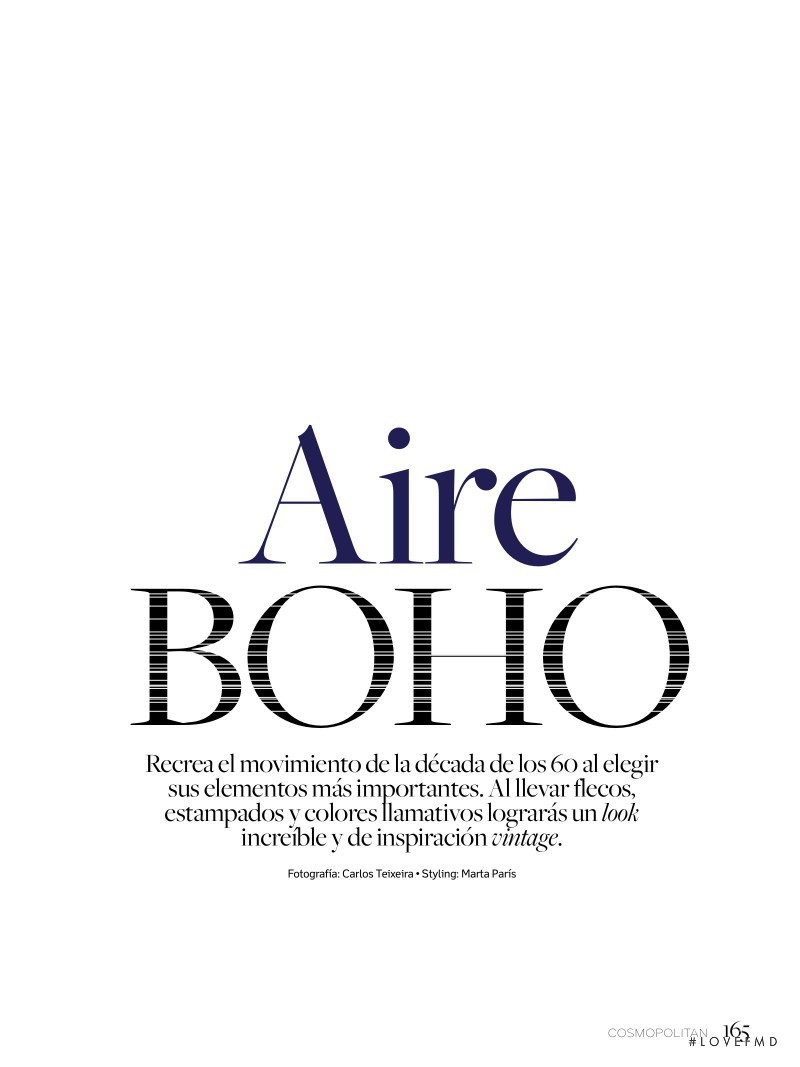 Aire Boho, June 2016