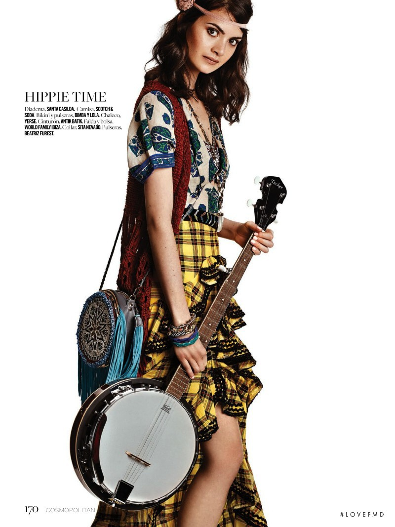 Kim Valerie Jaspers featured in Aire Boho, June 2016