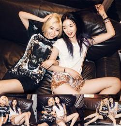 Miss A Min and Irene Kim