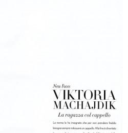 New Face Viktoria Machajdik La ragazza col cappello