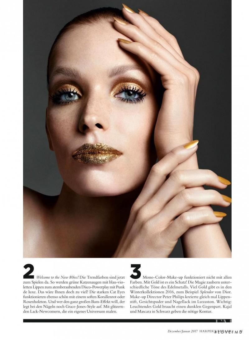 Alisa Ahmann featured in Beauty, December 2016