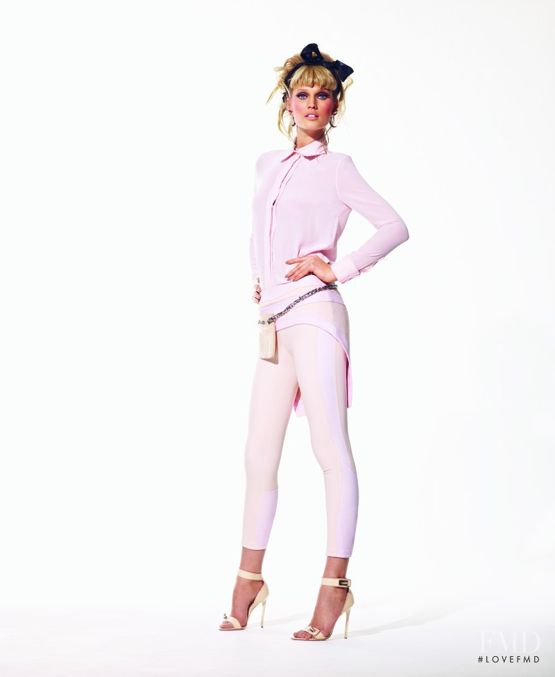 Toni Garrn featured in Lady Doll, March 2012