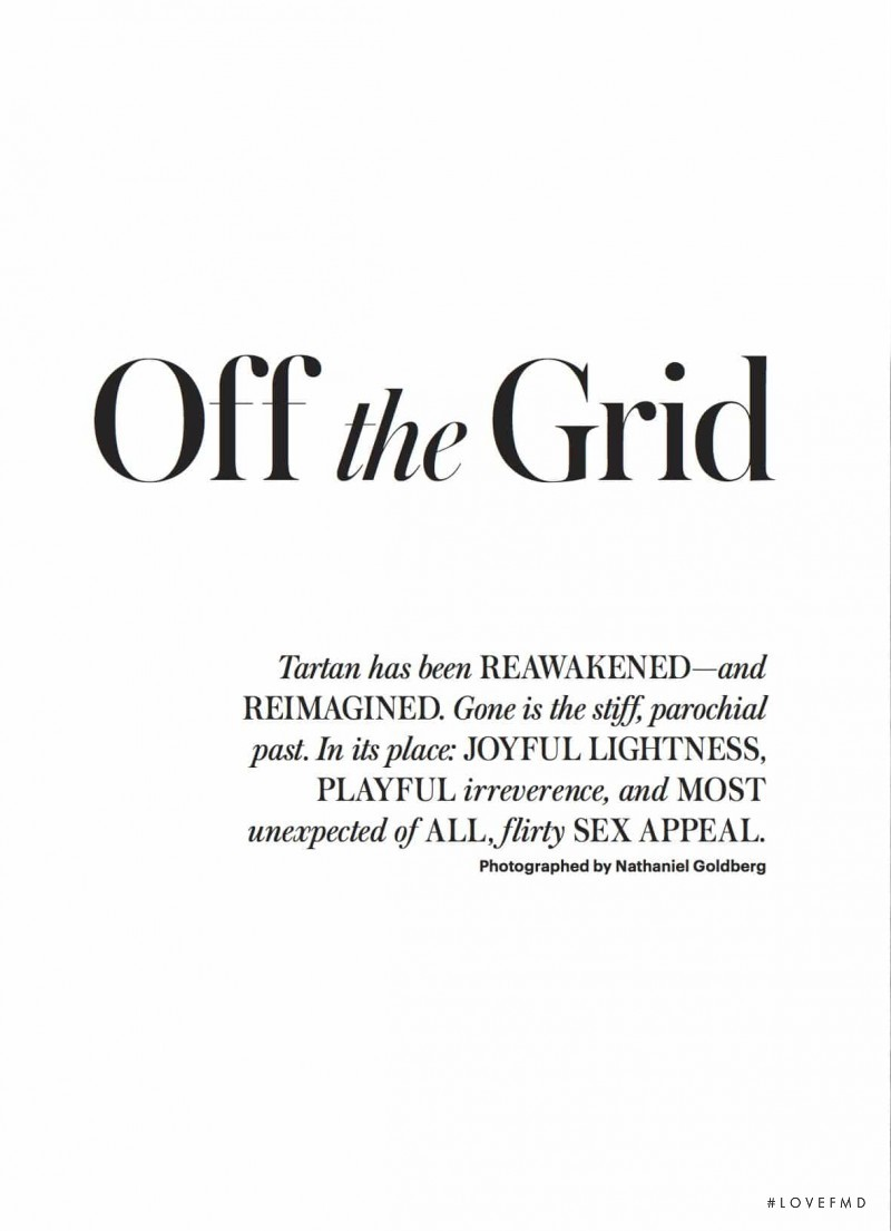 Off the Grid, January 2017