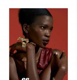 Cuff love in instyle usa with aamito stacie lagum wearing for A jason clemons salon